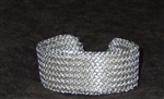 stainless steel welded chain mail bracelet
