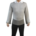 Welded Long Sleeve Chainmail Shirt made of 100% welded stainless steel compared to Mithril