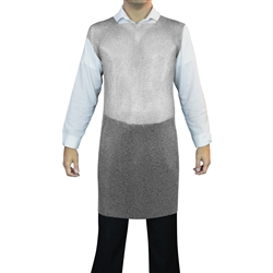 Welded No-Sleeve Chainmail Tunic made of 100% welded stainless steel compared to Mithril