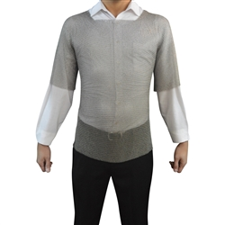 RingMesh Chainmail Shirt. Stab and Cut protection for LARP, for Food Processing and security.